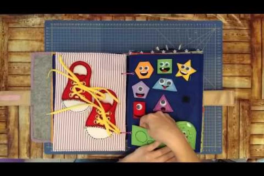Libros multisensoriales para los niños