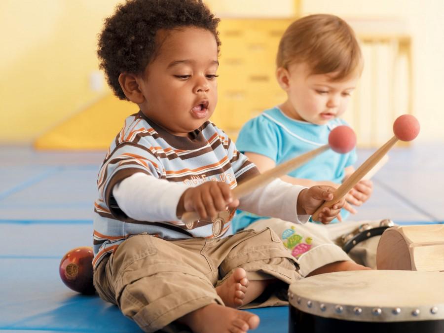 La música en los bebés y los niños
